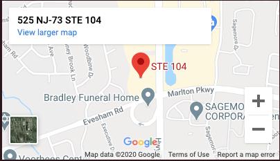 William Fay, Esq. Office Location Map